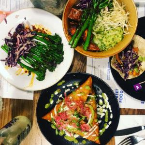 Wagamamas vegan dishes